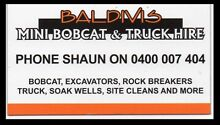 Bobcat excavator truck hire rock breaking Baldivis Rockingham Area Preview