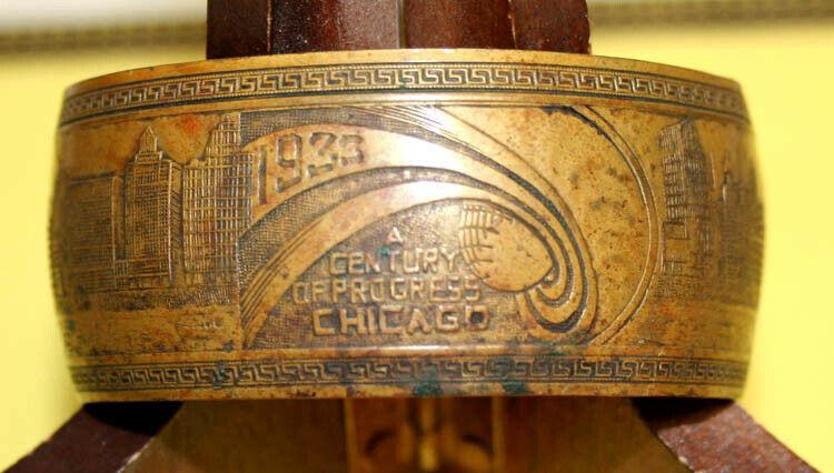 Vintage 1933 Chicago World