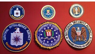 Cia-patch (FBI, NSA & CIA Patch Set & Stickers)