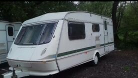 Elddis typhoon 1995 4 berth in good condition