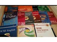 GCSE BOOKS (number of them)