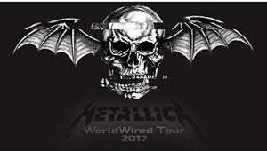 2 Metallica and & A7x Floor tickets
