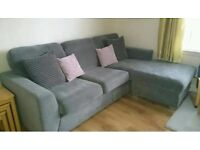 DFS Corner sofa less than 2 years old excellent condition