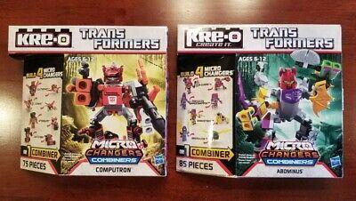 2014 Hasbro Transformers Kre-O Micro Changers Combiners: ABOMINUS and COMPUTRON