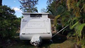 17 ft Avan poptop caravan 2007 in excellent condition