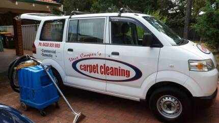 Carpet Cleaning Van & Equipment Watermans Bay Stirling Area Preview