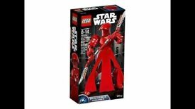 Lego Star Wars Elite Praetorian Guard Buildable Figure 75529: Brand new and unopened