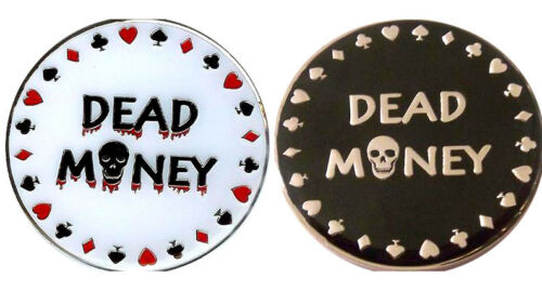 Dead Money Heavy Poker Card Guard Hand Protector NEW