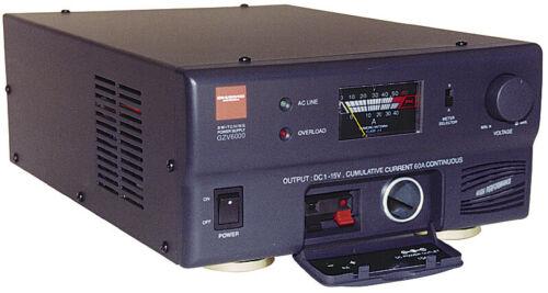 Diamond GZV6000 60 Amp AC to DC Power Supply