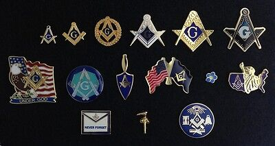 Masonic Lapel Pin Collection