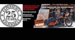 ENSEMBLE (2) FREIN/CLIGNOTANTS AUX LED NOIR LUSTRÉ HARLEY Saint-Hyacinthe Québec image 6