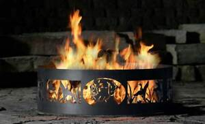 Custom fire pits Christmas special 5 FT. rings with custom desig