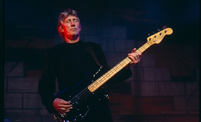 Roger Waters, 1-of-a-kind!   Never Printed!! Original 35mm color film