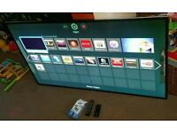 Lg 55 inch super slim line 3D smart WiFi new condition fully working with remote control