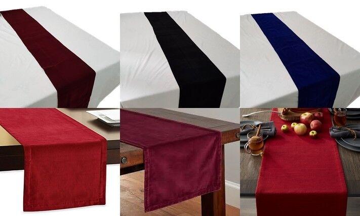 """Velvet Fabric Table Runner Table Mat Modern Home Decor 12""""x"""