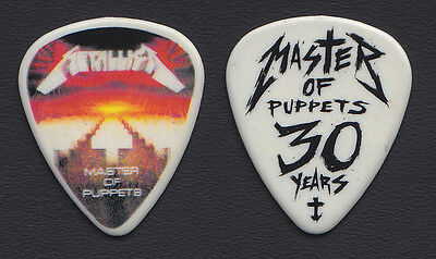 Metallica Master Of Puppets 30 Years Guitar Pick - 2017 WorldWired Tour