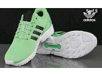 Trainer's adidas zx flux size 8.5