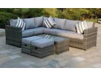 garden furniture sets, all new!