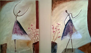 Art paintings from local Calgerian artist