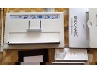 Bindomatic 5000+ 65 A4 & 10 A5 Aquarelle Covers+2 each A3 & A4 Hardcovers (ONO)