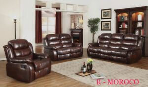factory direct recliner set
