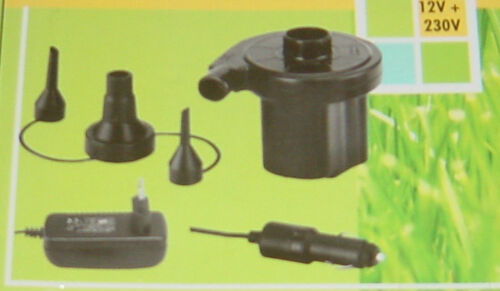 elektrische luftpumpe gebl sepumpe 12 230 volt neu ebay. Black Bedroom Furniture Sets. Home Design Ideas