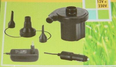 Elektrische Luftpumpe / Gebläsepumpe 12/230 Volt,NEU!