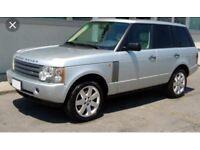 Wanted damaged Range Rover Vogue2004-2010