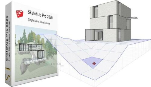 SketchUp Pro 2020 & v-ray 4.0 (NEW AND EXCLUSIVE)🔥free FAST EMAIL delivery