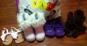 Like NEW lot of toddlers size 7 shoes