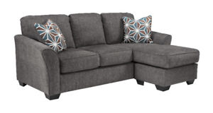 ELTON REVERSIBLE SECTIONAL - NO TAX - FREE DELIVERY