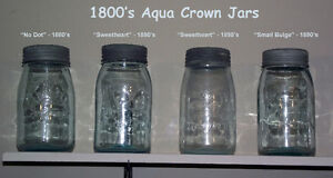 Crown Jar Collection - Cream-of-the-Crop - Late 1800's