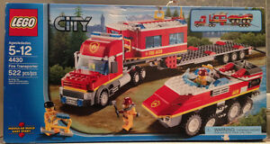LEGO Fire Transporter - RETIRED and FACTORY SEALED