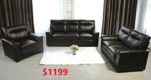 LUXURY SOFA SET ONLY 1199