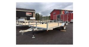 2017 Easy Hauler 7x14 Side and Rear load Utility