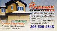 All types of stucco