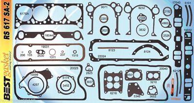 Pontiac 421 326 389 Full Engine Gasket Set/Kit BEST Head+Intake+Oil Pan 1961-66