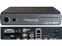 Technomate, dreambox, openbox, superbox, samsat 12 month full packages all channels