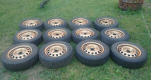 4 x 100 tires and rims
