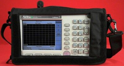Anritsu S810d -11nf Broadband Cable Antenna Analyzer 2 Mhz To 10.5 Ghz