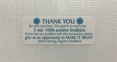 Thank You For Your Purchase Stickers 30pcs Design11 - Free Us Shipping