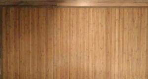 Bamboo area mat