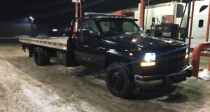 Towing Service, $60 Flat Rate, Flat Bed.