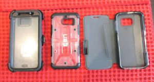 SAMSUNG GALAXY S6 CELL PHONE CASES - GREAT CONDITION !!