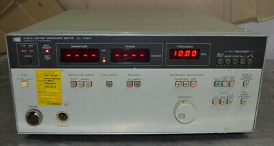 Hp 4193a Vector Impedance Meter 0.4-110mhz A1