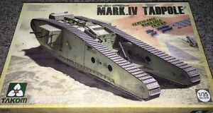 Takom 1/35 WWI Heavy Battle Tank Mark IV Tadpole