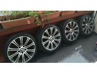4 x BMW Alloy Wheels and Tyres
