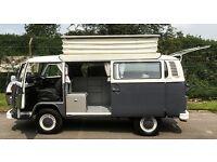 1978 Volkswagen T2 Bay Window Campervan