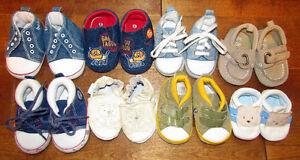 8 paires des chaussures pour bébé Saguenay Saguenay-Lac-Saint-Jean image 1