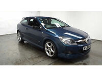 2006(56)VAUXHALL ASTRA COUPE SRI+ CDTi X PACK MET BLUE,FULL LEATHER,GREAT VALUE